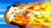 Natsu gewinnt einen kampf