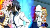 Gray und natsu streiten sich