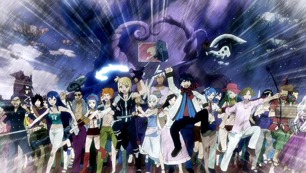 Edolas Fairy Tail goes into battle.jpg