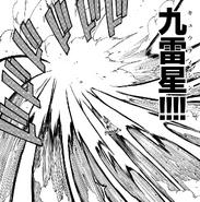 Jellal's use of Kyuuraishin