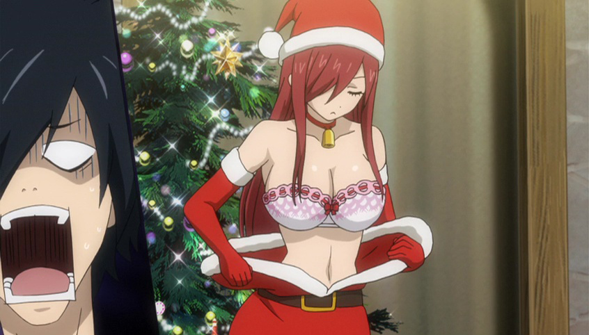 Erza naked tail fairy Erza on
