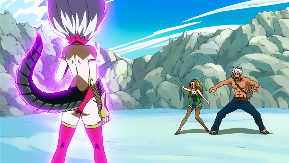 Mirajane Strauss Vs Elfman Strauss Evergreen Fairy Tail Wiki Fandom Is it the sweet disposition of a 'nice girl' or the ruthless heart of a killer? mirajane strauss vs elfman strauss