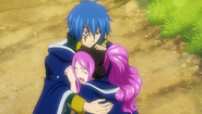 Jellal and Meredy after reading Ultear's letter