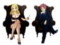 Lucy and Natsu (Fantasia) 01