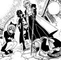 Avatar threaten Natsu and Lucy