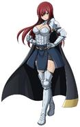Erza's Heart Kreuz Armor with cape