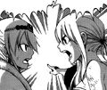Lucy and Hisui Arguing