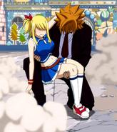 Loke saves Lucy