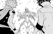 Natsu y Gray frente a Hakune
