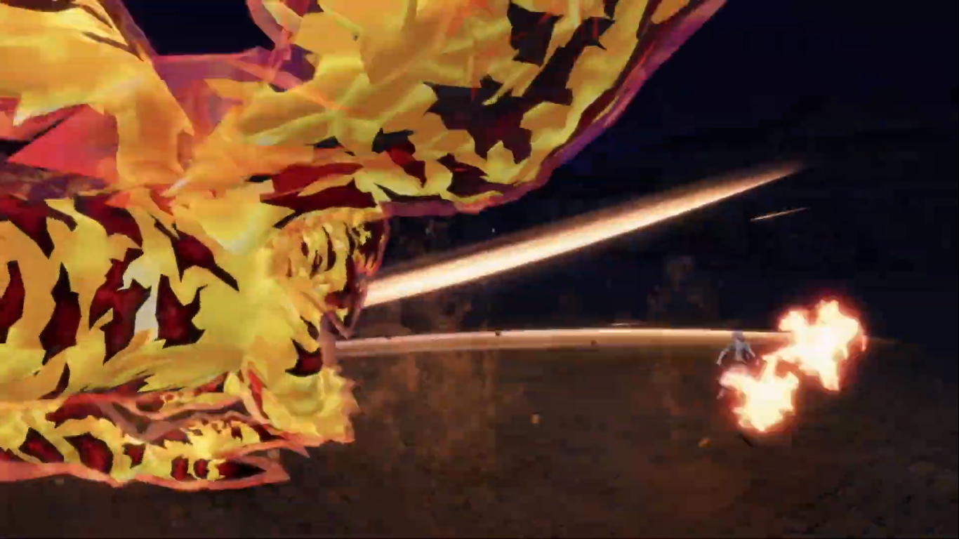 Hell Flame Dragon's Claw