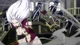 Mirajane Strauss Synopsis Fairy Tail Wiki Fandom Contains portions of episode 20 (natsu and the dragon while fighting seilah, mirajane thinks back to her past when she first took over a demon. mirajane strauss synopsis fairy tail