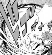 Mirajane usa Satan Blast
