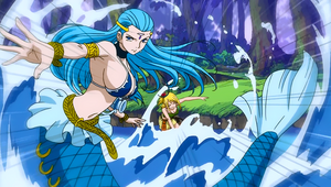 Aquarius is summoned by Lucy.png