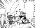 Natsu attacking klodoa