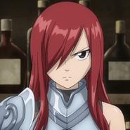 Erza in OVA 8