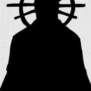 Grand White Priestess Silhouette