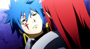 Jellal is scolded by Erza
