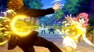 Angel hits Loke and Aries