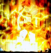 Modo Dragón de llamas eléctricas