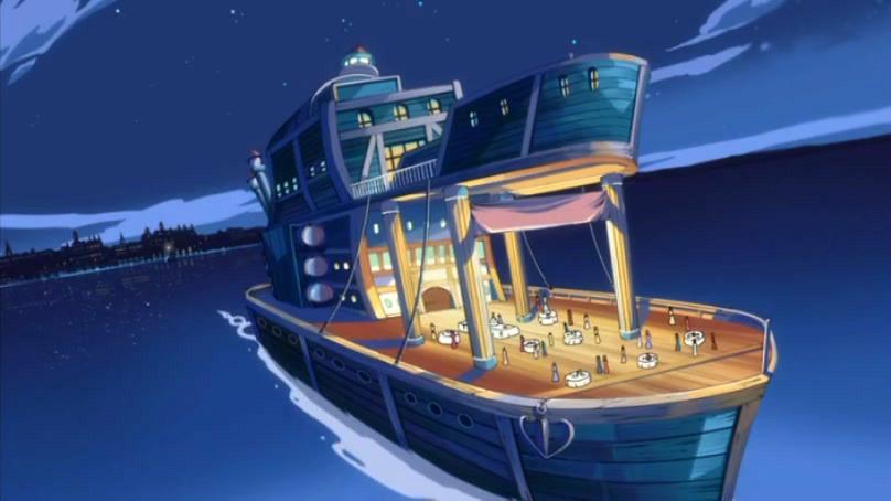 Яхта Боры