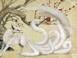 Transformation en Kitsune