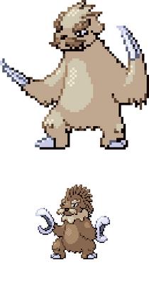 Long Claw Pokémon