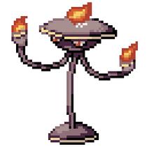 Oil Lamp Pokémon