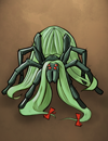 Luxuriantly Coiffed Sorrow-Spider