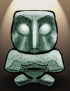 Search for information on the Scowling Flint Idol