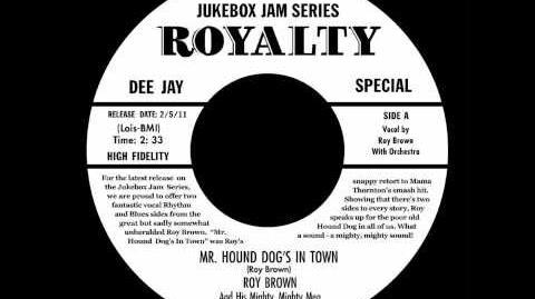 Roy Brown - Mr