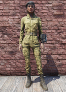 FO76 Military Fatigues with Hat