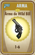 FOS Arma de Wild Bill carta
