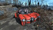 FO4 Station wagon red Quincy