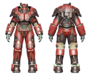 FO4 X-01 power armor hot rod flames