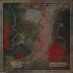 Raw crimson flux locations