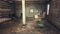 FO76 Middle Mountain Cabins (Cabin Pioneer Scout 1)