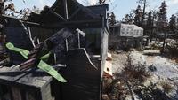 FO76 Monongah Mine Houses Crashed Airplane