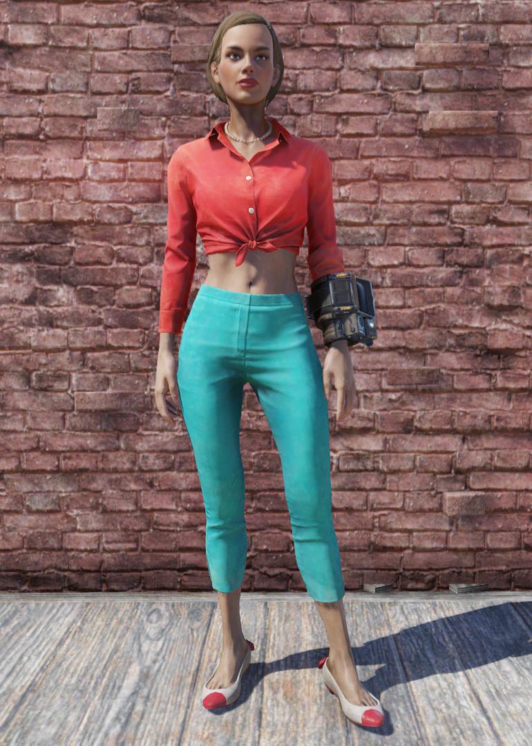 Roadtripper blouse and capris
