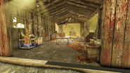 FO76 Sunday Brothers' cabin (Power armor)