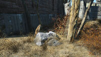 Fo4 hollowed out rock note