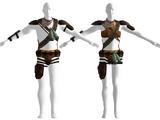 Weißbeine-Outfit