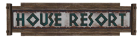 FNV House Resort sign