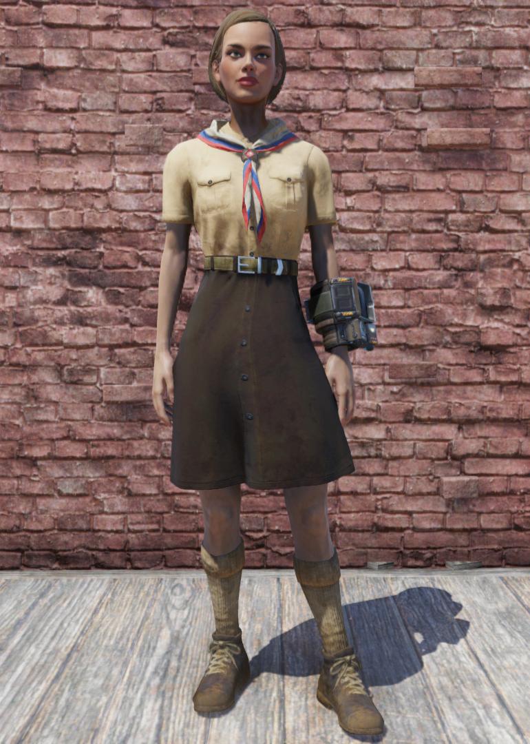 Pioneer Scout Tadpole uniform