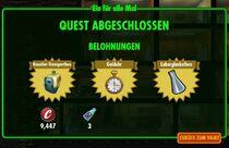 FOS Quest - Ein für alle mal - Bild 23 - Belohnungen