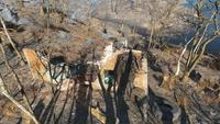 FO4 Ruined house near Wicked Shipping Fleet Lockup