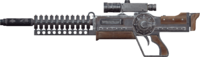 FO4cc gauss rifle butt and barrel 1