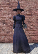 FO76 Halloween Costume Witch with Hat