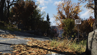 FO76 Location road sign new 1