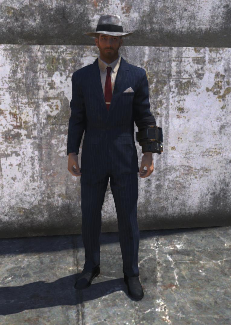 Mobster suit