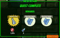 FoS Aim for the Head! rewards